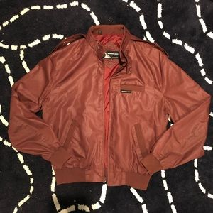 Vintage Members Only European Craft Bomber Size 40